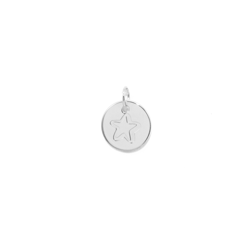 Petite Star Anhänger Jewelry frau-hoelle 925 Silver