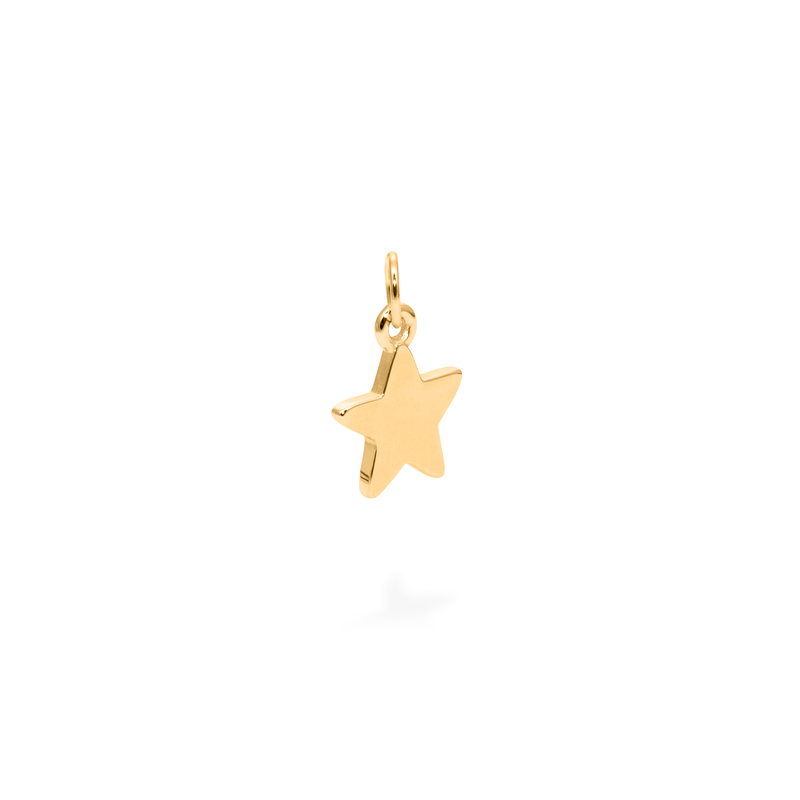 Petite Star Charm Anhänger Jewelry frau-hoelle