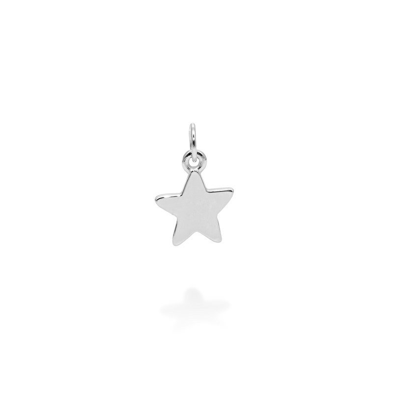 Petite Star Charm Anhänger Jewelry frau-hoelle 925 Silver
