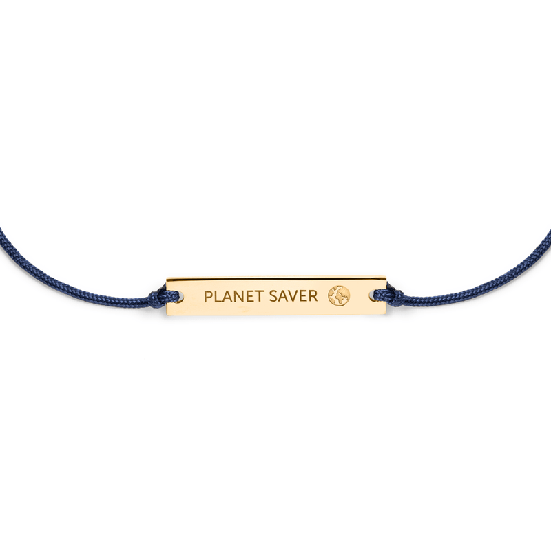 Planet Saver Armband Jewelry janaklar 925 Silver Gold Plated