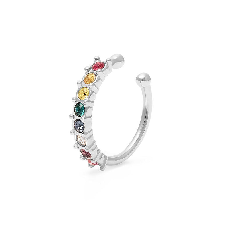 Pride Edition Earcuff Jewelry stilnest Rhodium Plated 925 Silver