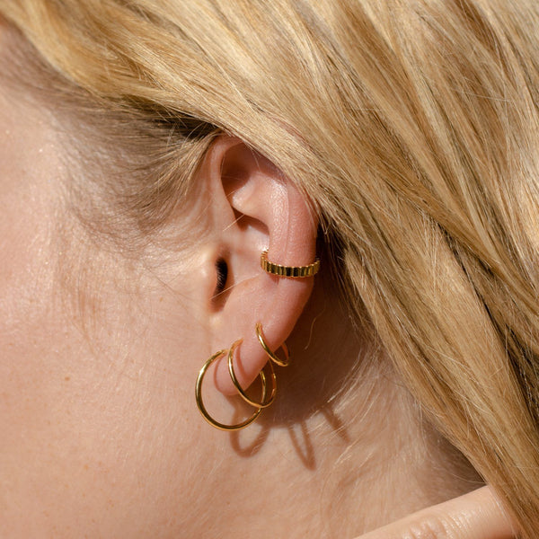 Ridged Earcuff Jewelry Stilnest