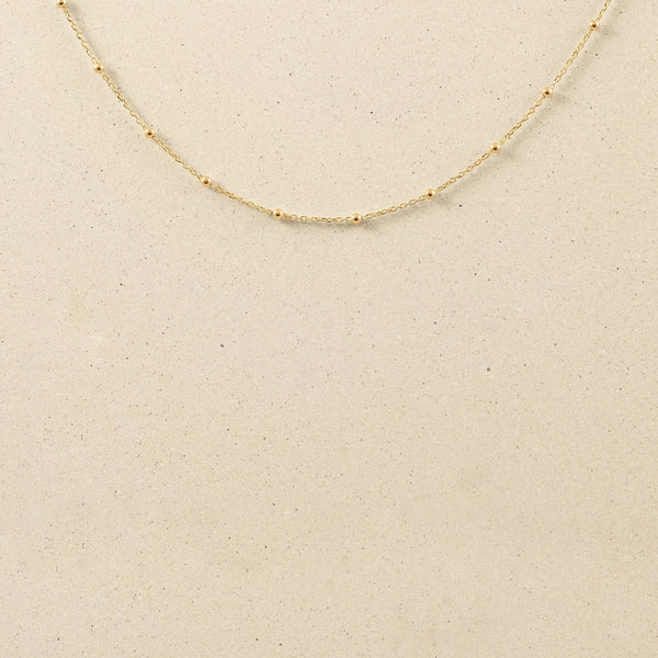 Satellite Kette Jewelry stilnest 24ct Gold Vermeil S (45cm)