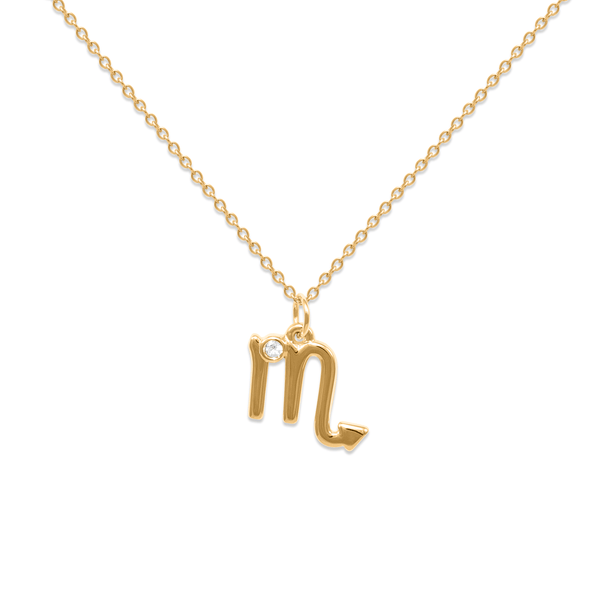 Scorpio Kette Jewelry luisa-lion 24ct Gold Vermeil Necklace size: S (45cm)