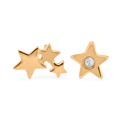 Shooting Star #2 Jewelry haley-wight 925 Silver Gold Plated
