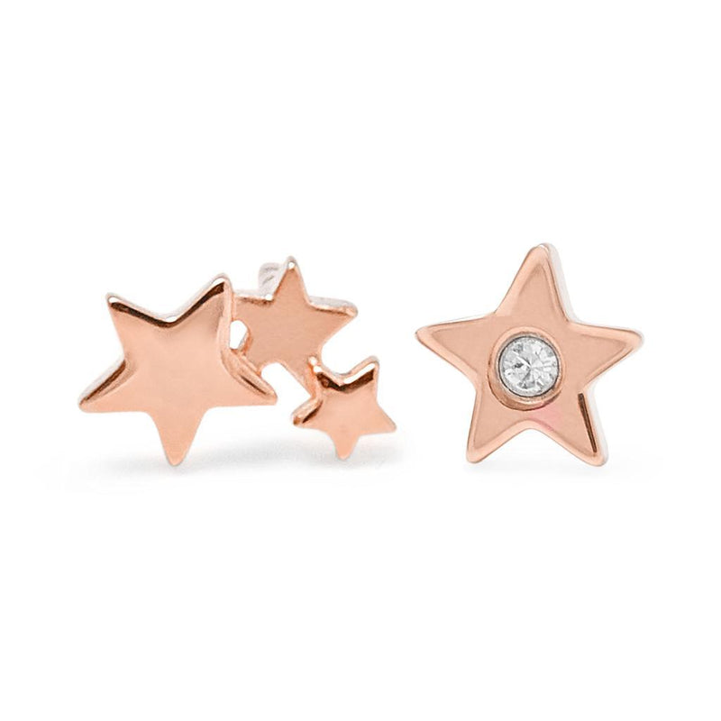 Shooting Star #2 Jewelry haley-wight 925 Silver Rose Gold Plated