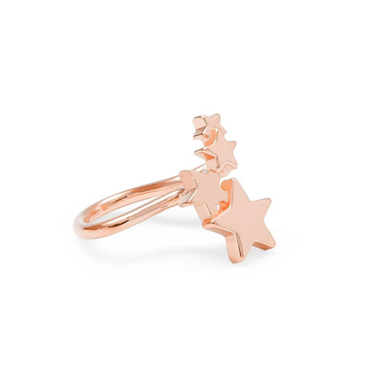 Shooting Star #3 Jewelry haley-wight 925 Silver Rose Gold Plated