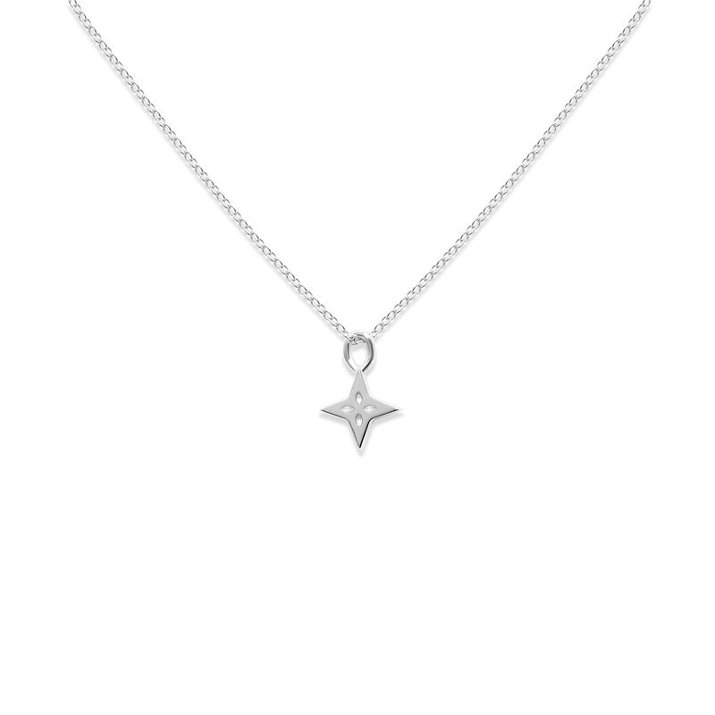 Shooting Star Necklace Jewelry useless 925 Silver S (45cm) Ankerkette