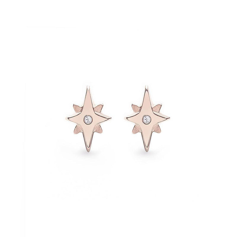 Star Dancer Ohrringe Jewelry jolie-janine 925 Silver Rose Gold Plated