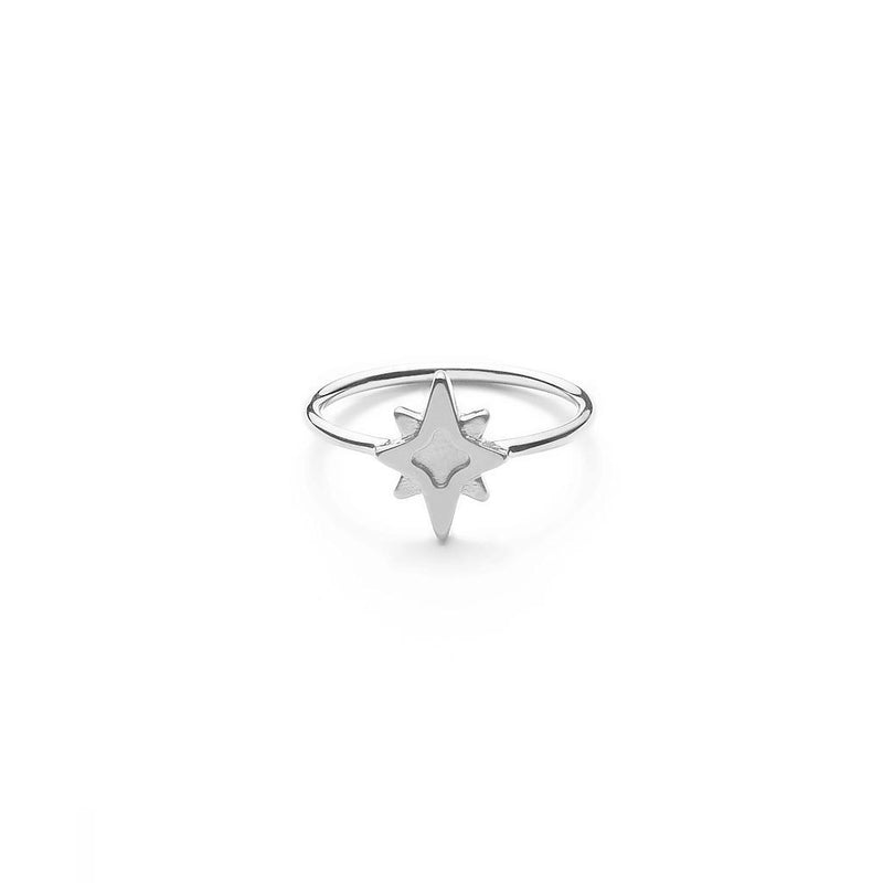 Star Dancer Ring Jewelry jolie-janine 925 Silver XS - 49 (15.6mm)