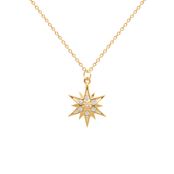 Starburst Kette Jewelry emily-norris 24ct Gold Vermeil S (45cm)