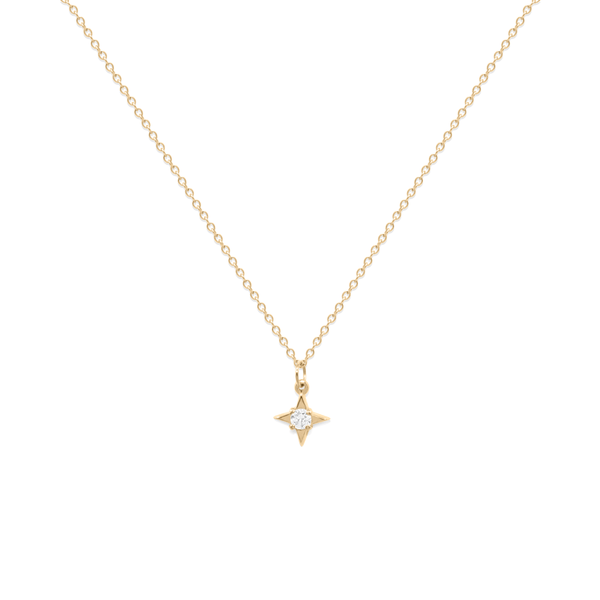 Stella Diamond Kette Jewelry stilnest 14ct solid gold 45 cm