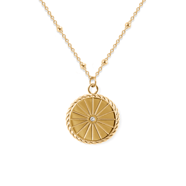 Sunrise Kette Jewelry useless 24ct Gold Vermeil S (45cm) Satellite