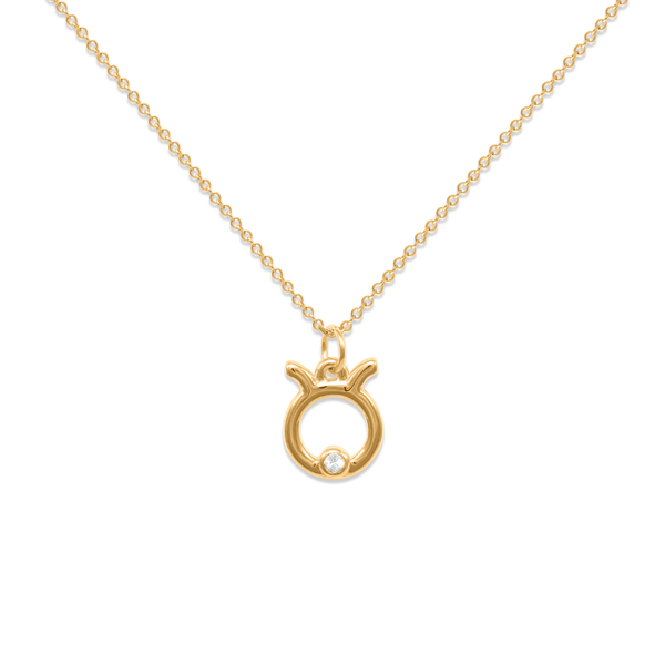 Taurus Kette Jewelry luisa-lion 24ct Gold Vermeil Necklace size: S (45cm)