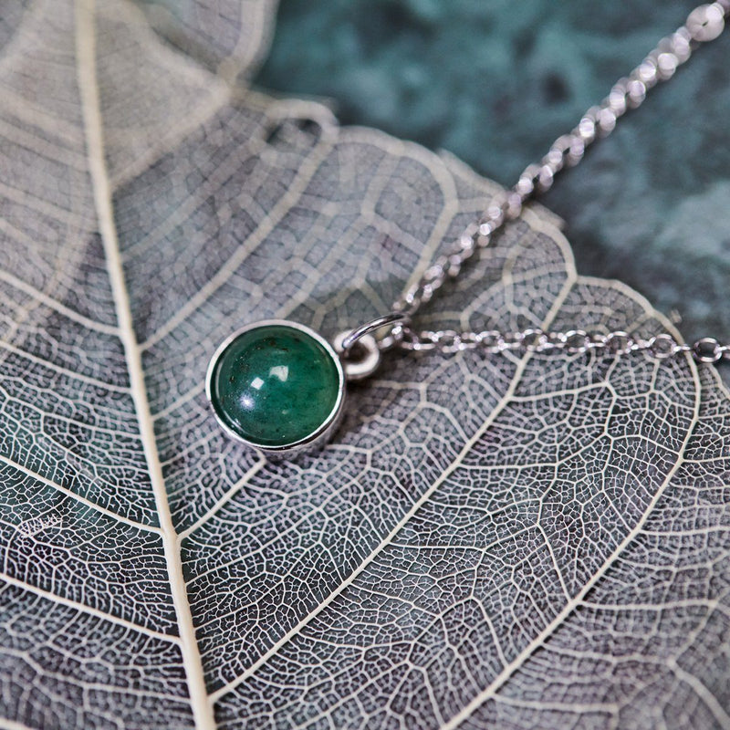 The Color Barring Kette Aventurine Quartz Jewelry frau-hoelle