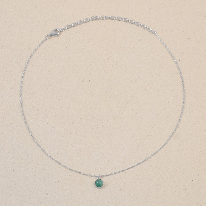 The Color Choker Aventurine Quartz Jewelry frau-hoelle 925 Silver