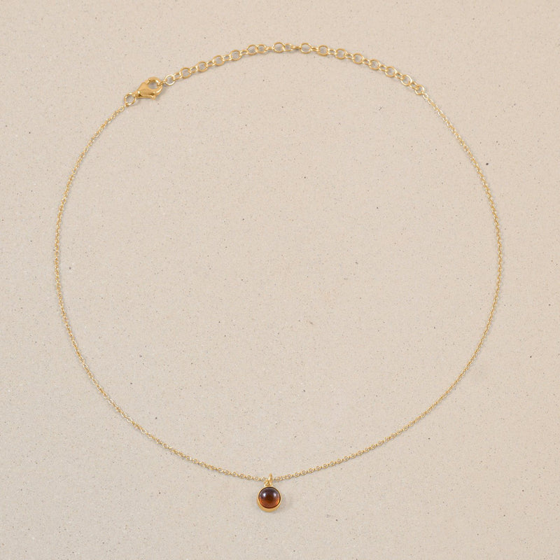 The Color Choker Bernstein Jewelry frau-hoelle 24ct Gold Vermeil