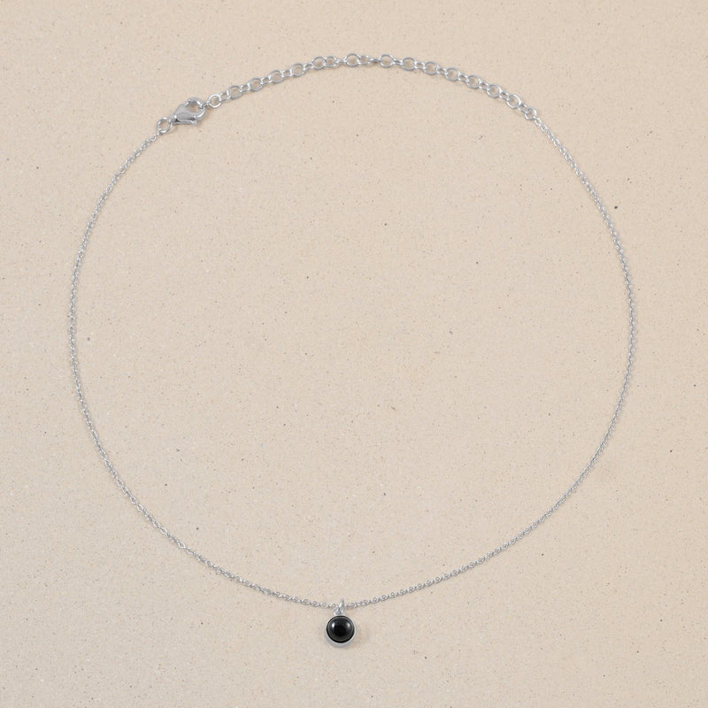 The Color Choker Onyx Jewelry frau-hoelle 925 Silver
