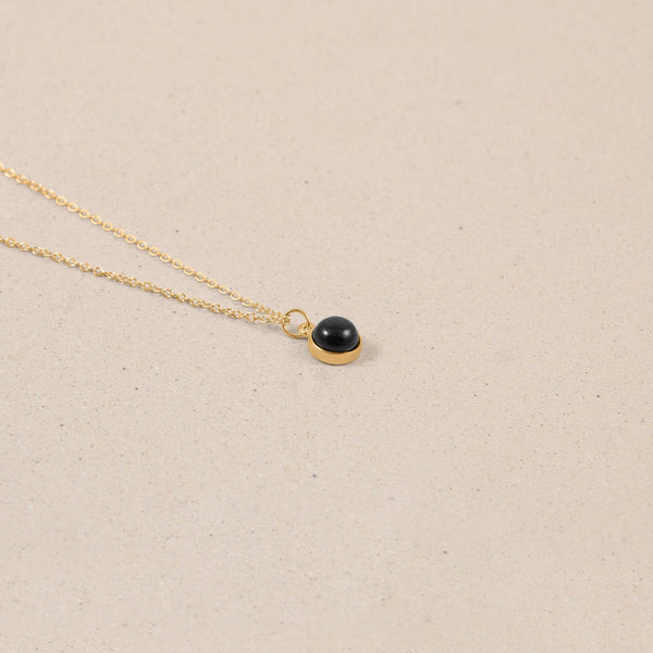 The Color Kette Onyx Jewelry frau-hoelle
