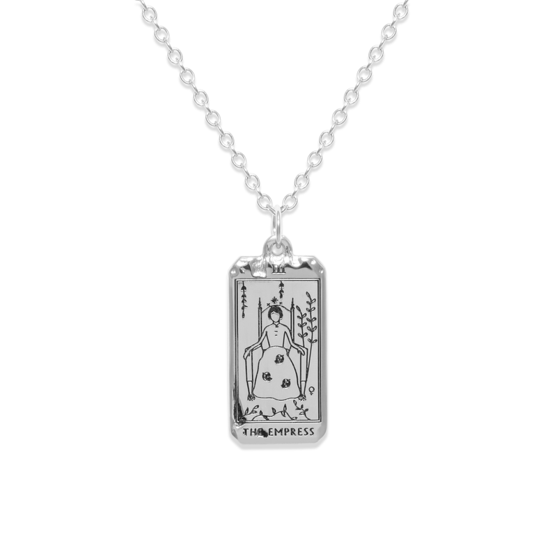 The Empress Tarot Card Kette Jewelry jacko-wusch 925 Silver S (45cm)