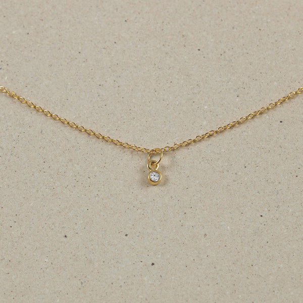 The Everyday Basic Choker Jewelry Stilnest 24ct Gold Vermeil Anchor Chain/Ankerkette 32+8cm