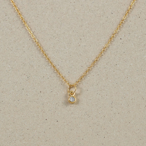 The Everyday Basic Necklace Jewelry Stilnest 24ct Gold Vermeil Anchor Chain/Ankerkette S (45cm)
