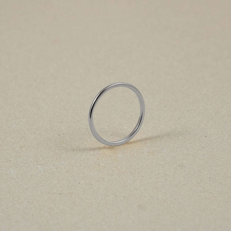The Everyday Basic Ring Jewelry Stilnest 925 Silver XS - 49 (15.6mm)