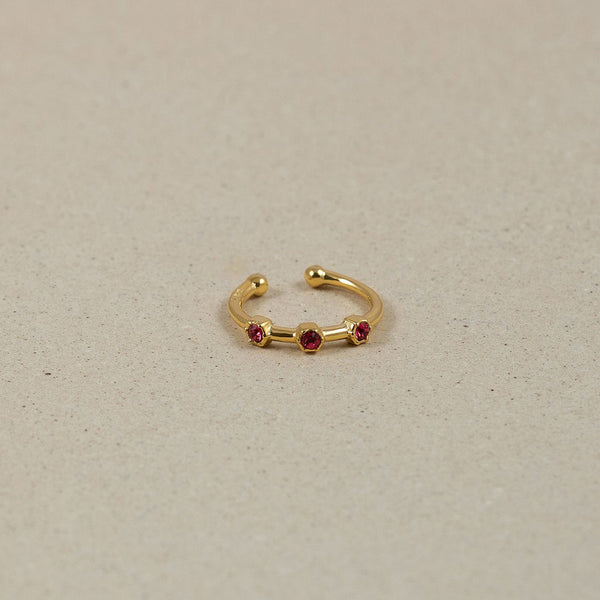 The Everyday Birthstone Ear Cuff Jewelry Stilnest