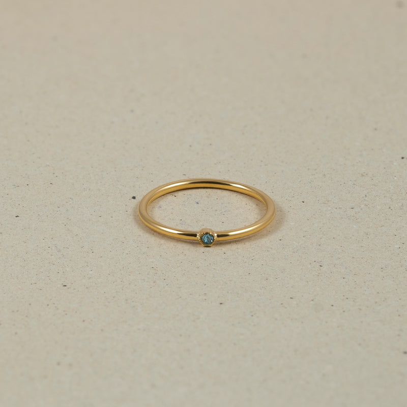 The Everyday Birthstone Ring Nr. 1 Jewelry Stilnest