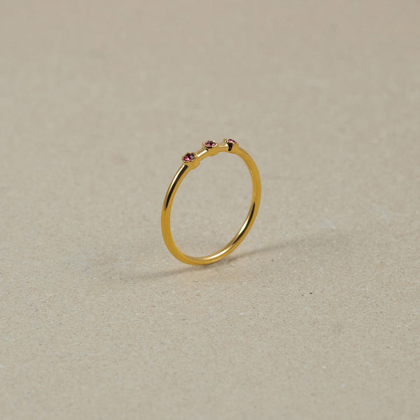 The Everyday Birthstone Ring Nr. 2 Jewelry Stilnest