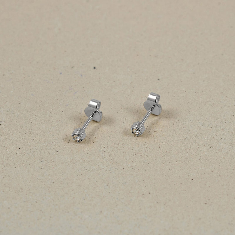 The Everyday Stud Earrings Jewelry Stilnest 925 Silver