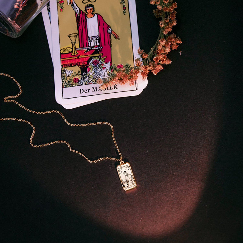The Magician Tarot Card Kette Jewelry jacko-wusch
