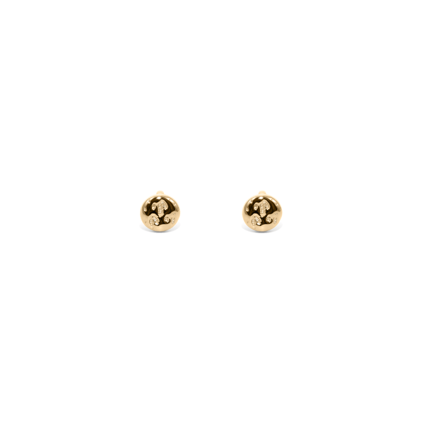 The Meadow Studs - Solid Gold Jewelry useless 14ct solid Gold