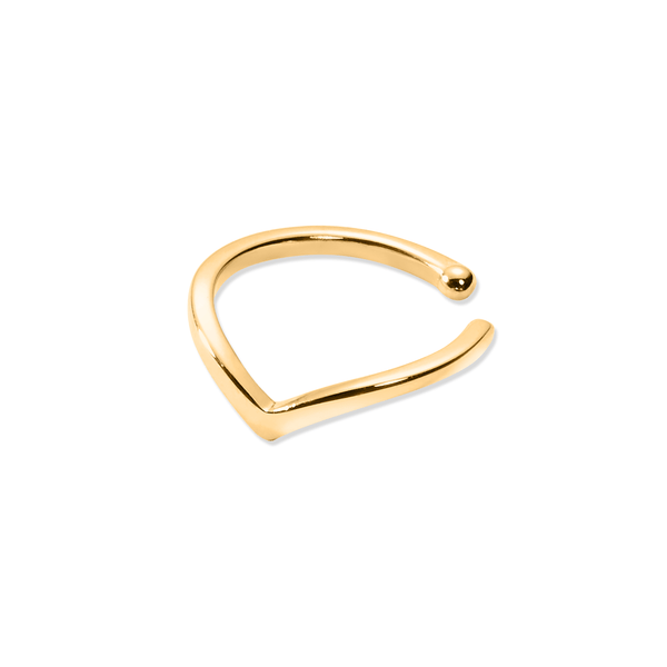 The Peaks Earcuff Jewelry bethany-marie 925 Silver Gold Plated