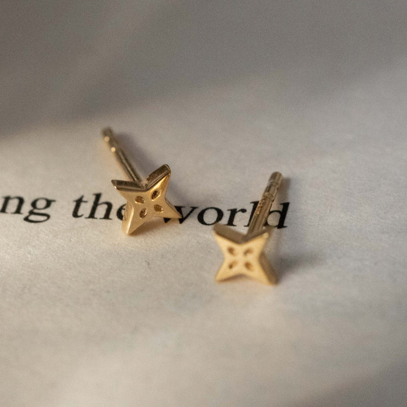 The Shooting Star Earrings (Pair) Jewelry useless