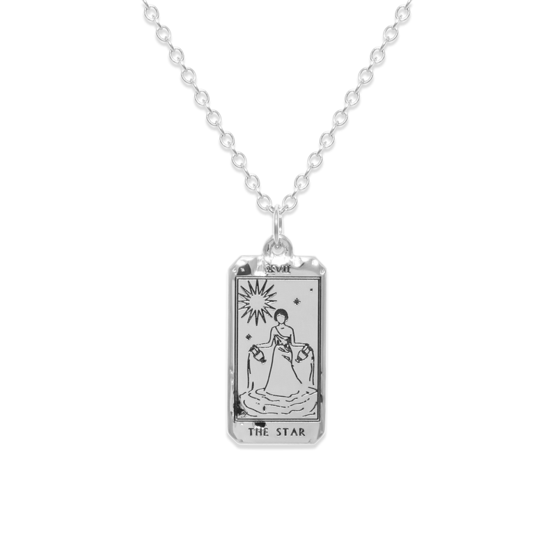The Star Tarot Card Kette Jewelry jacko-wusch 925 Silver S (45cm)