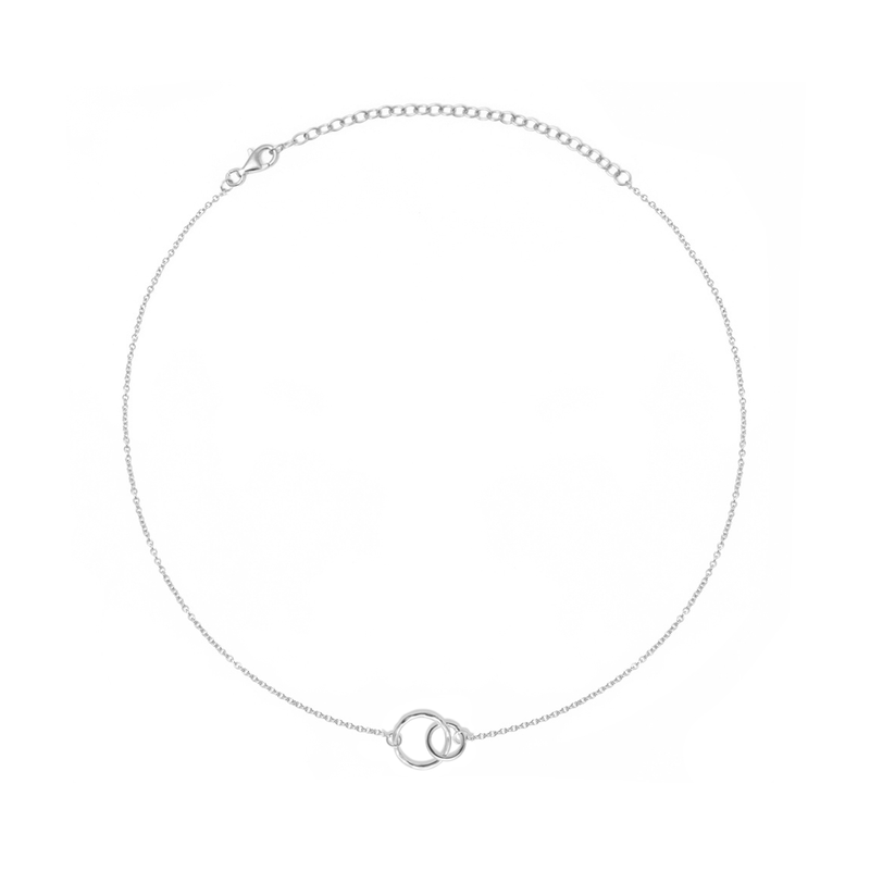 The Two of Us Choker Jewelry ella-thebee 925 Silver
