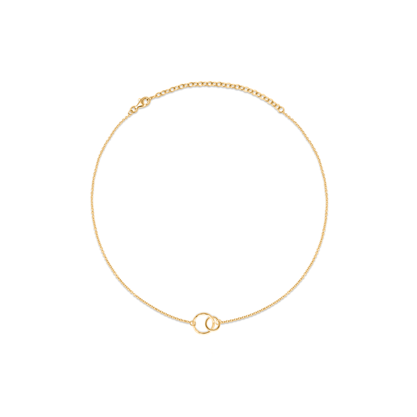 The Two of Us Choker Jewelry ella-thebee 925 Silver Gold Plated