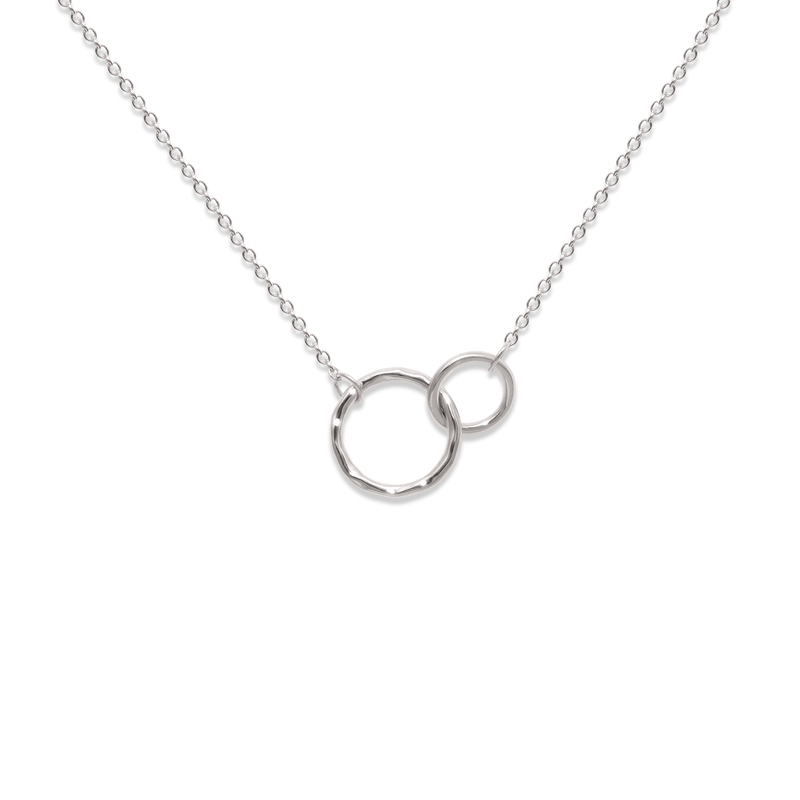 The Two of Us Kette Jewelry ella-thebee 925 Silver S (45cm)