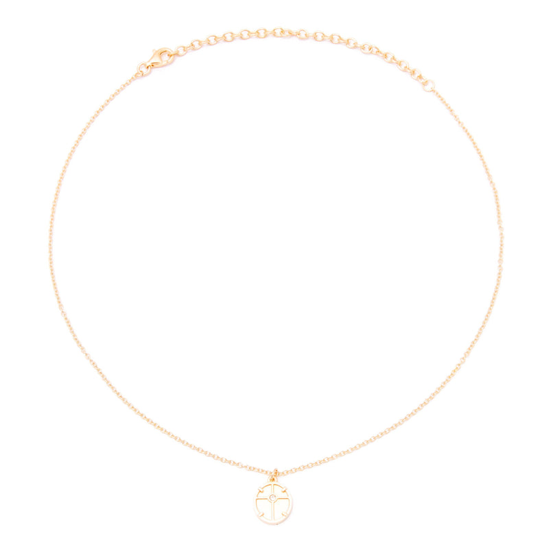 Theia Medal Choker Jewelry audrina-patridge