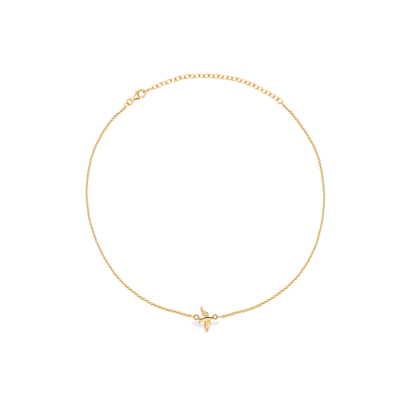 This Gathered Nest Bird Choker Jewelry angela-braniff