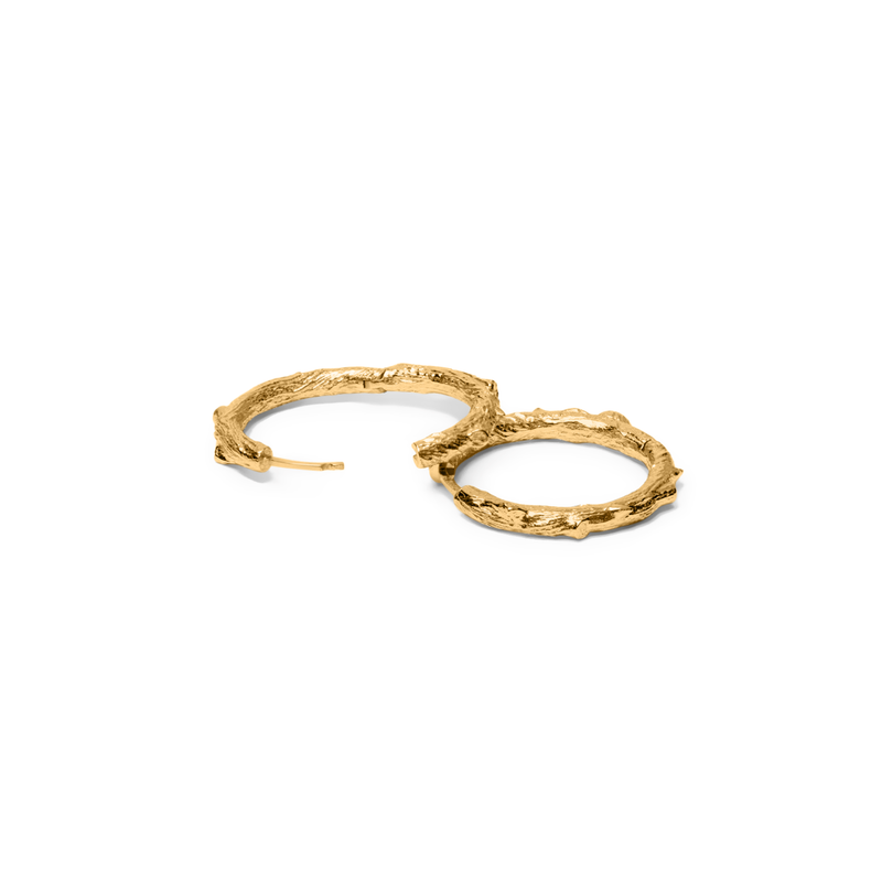 Thorn Ear Hoops Jewelry masha-sedgwick