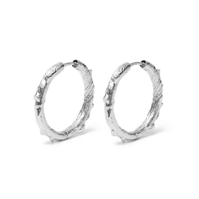 Thorn Ear Hoops Jewelry masha-sedgwick 925 Silver