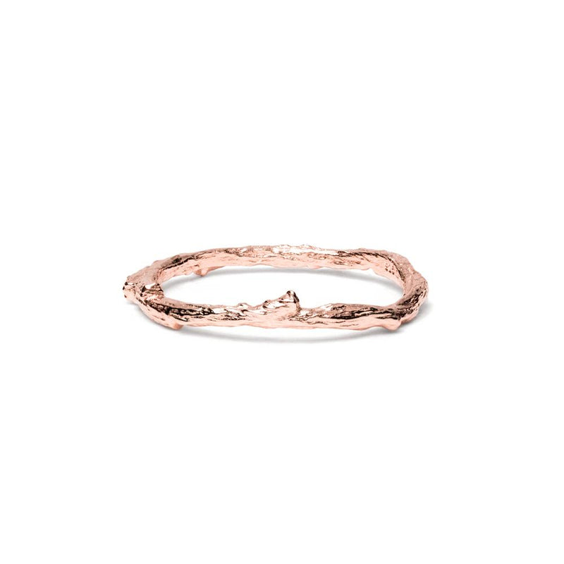 Thorn Ring Jewelry masha-sedgwick 925 Silver Rose Gold Plated L - 60 (19.1mm)