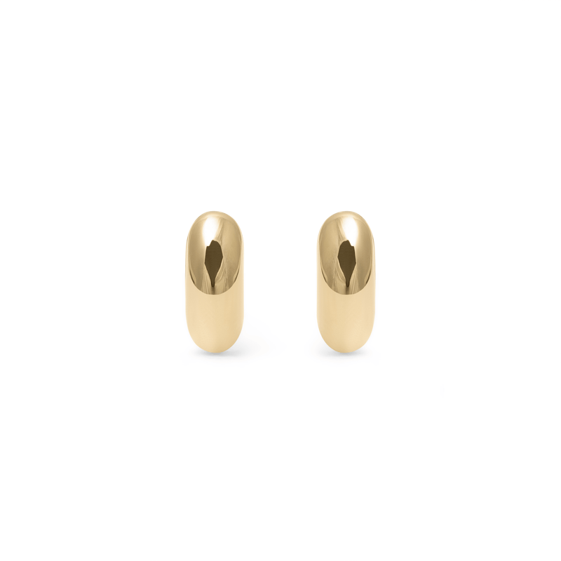 Tide Studs - Solid Gold Jewelry useless 14ct solid Gold