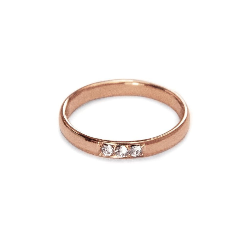 True Love Ring 2 Jewelry daniela-katzenberger 925 Silver Rose Gold Plated S - 52 (16.6mm)