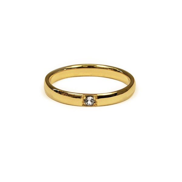 True Love Ring 3 Jewelry daniela-katzenberger 925 Silver Gold Plated XS - 49 (15.6mm)