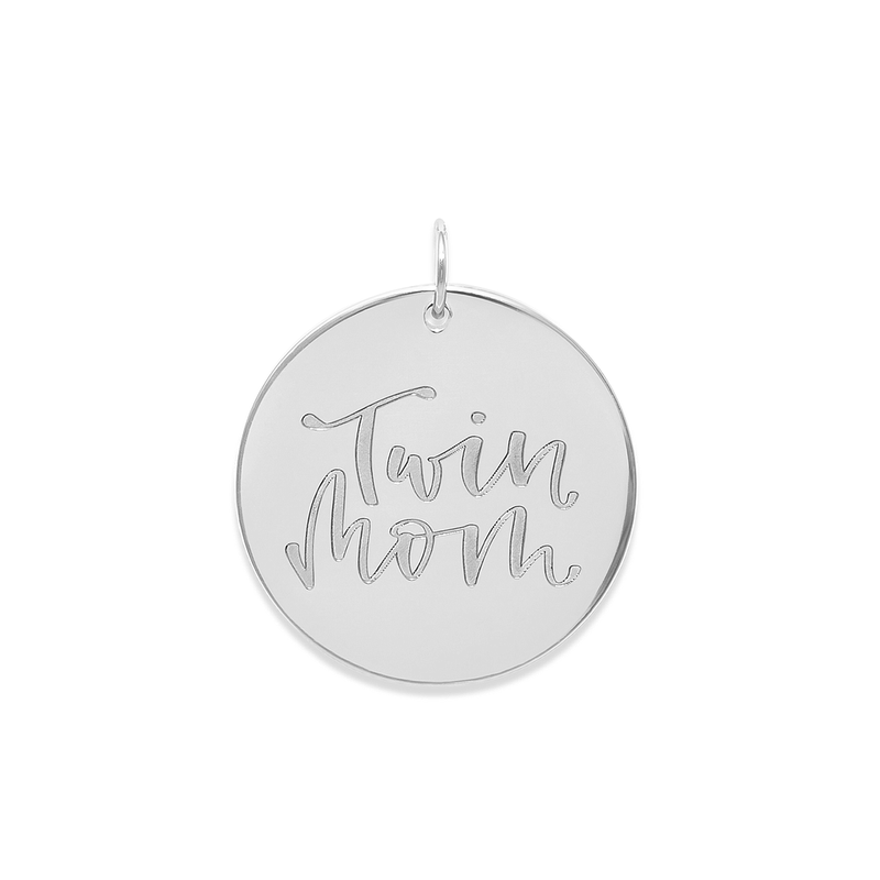 Twin Mom Anhänger #mommycollection Jewelry frau-hoelle 925 Silver