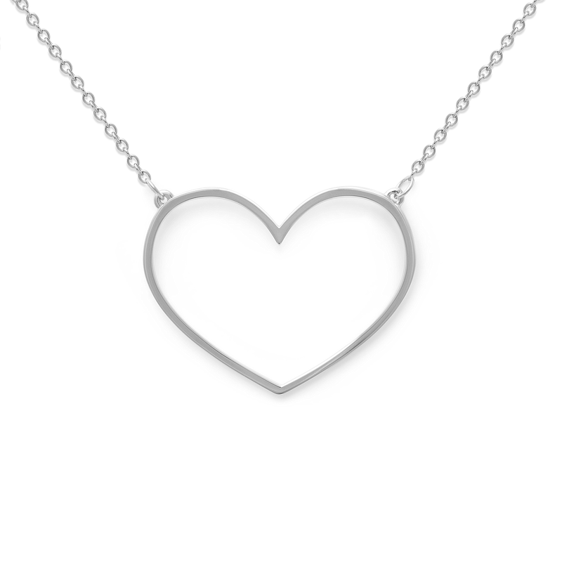 Unbreakable Heart Kette Jewelry tiffani-beaston M (60cm) 925 Silver