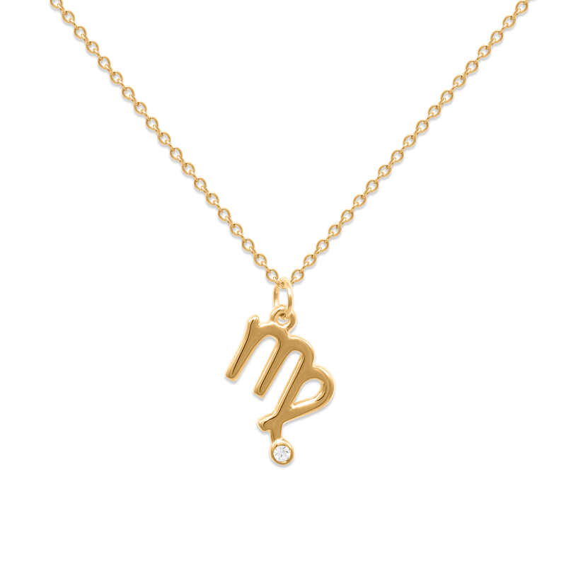 Virgo Kette Jewelry luisa-lion 24ct Gold Vermeil Necklace size: S (45cm)